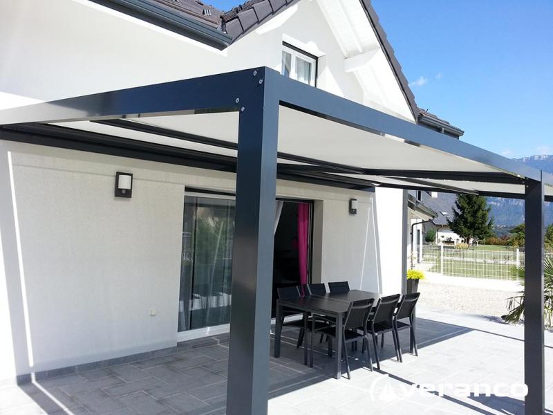 Pergola screen enroulable de veranco for Prix d une pergola