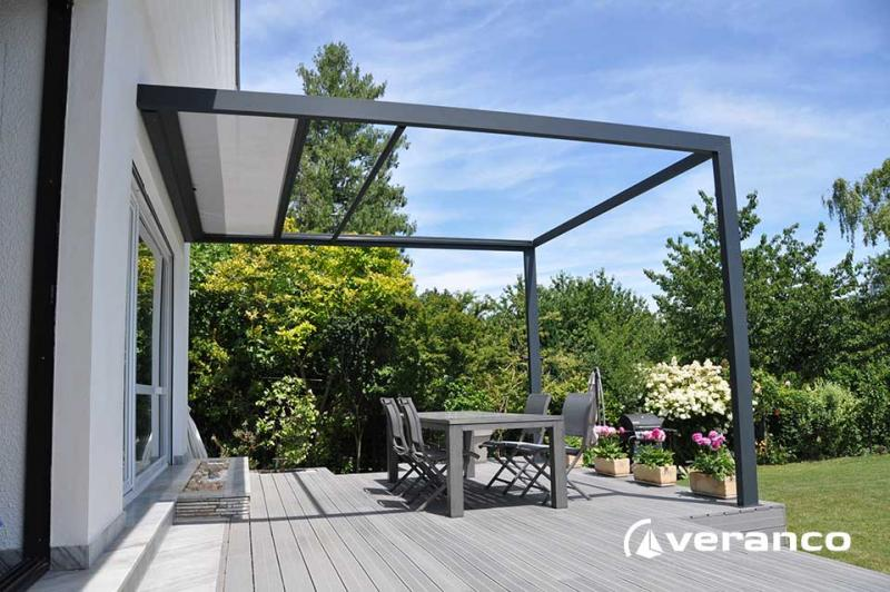 pergola screen enroulable de veranco. Black Bedroom Furniture Sets. Home Design Ideas