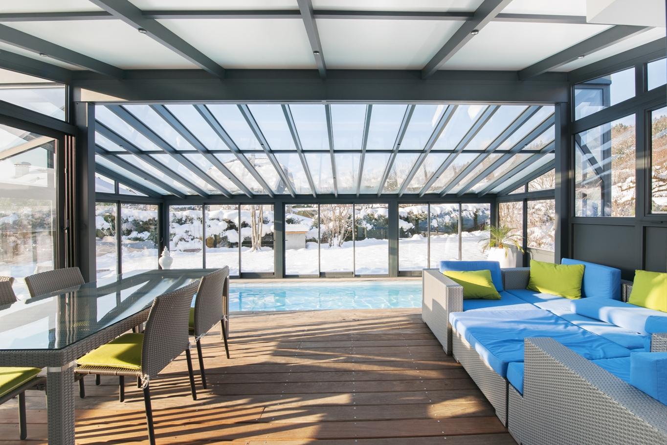 V randa et pergola en alsace haut rhin 68 mulhouse for Veranda moderne piscine